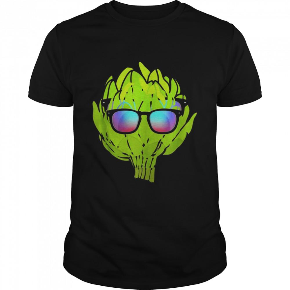 Artichoke With Sunglasses Vegetarian Costume t-shirt Classic Men's T-shirt