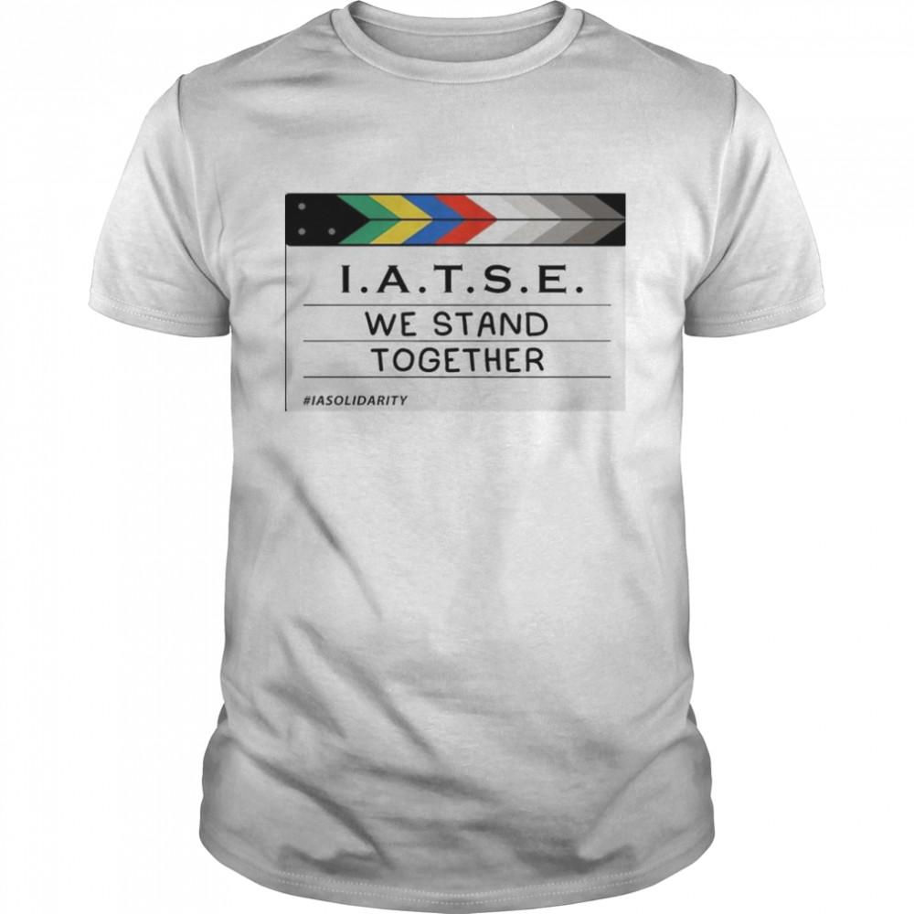 IATSE we stand together shirt Classic Men's T-shirt