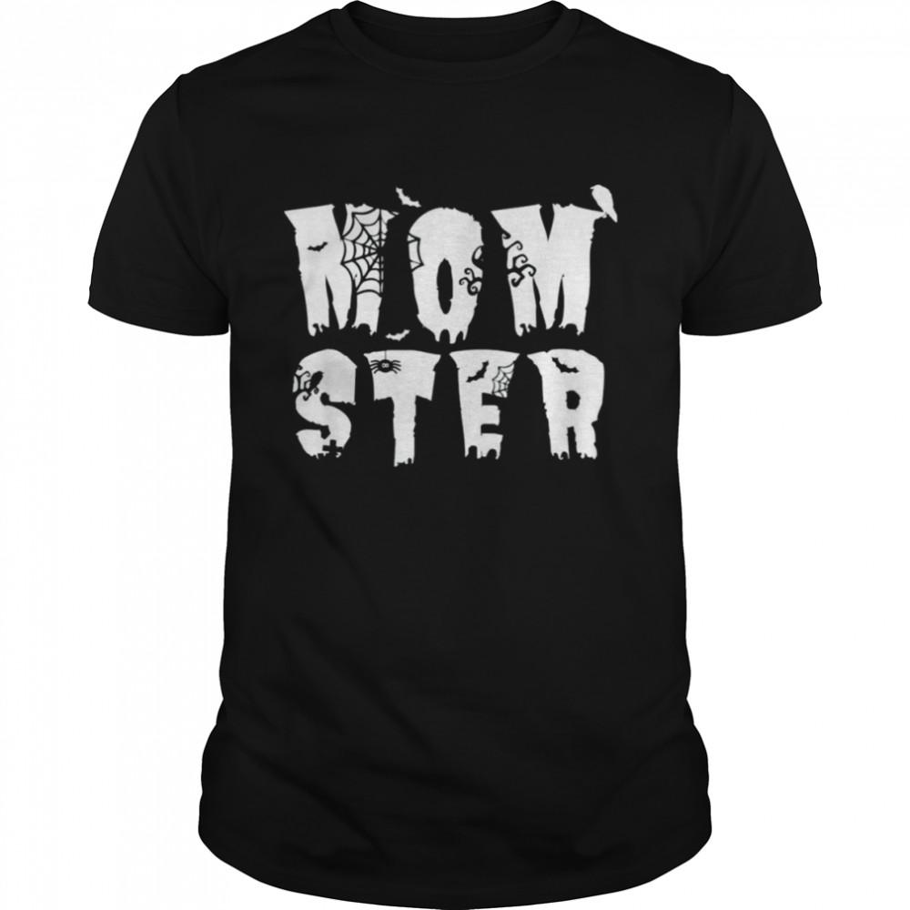 Mom Momster Halloween Pun Spooky Costume shirt Classic Men's T-shirt