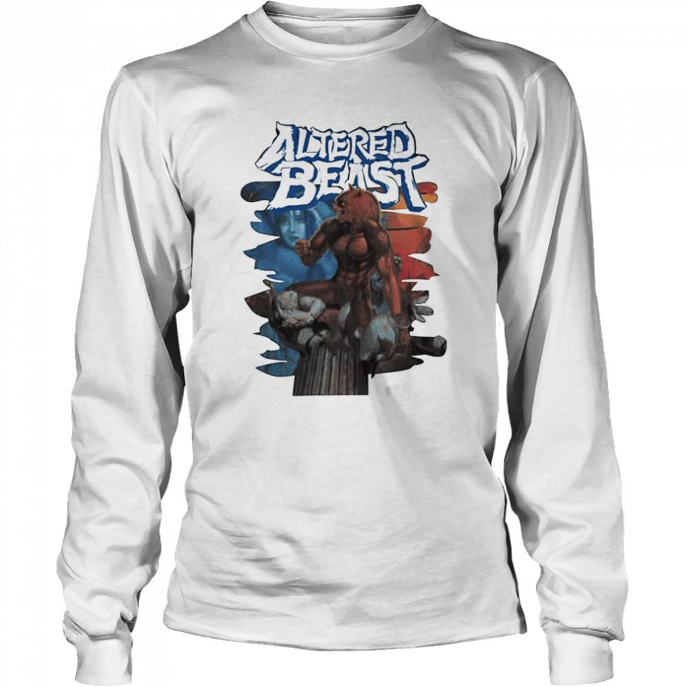 Altered Beast game T-shirt Long Sleeved T-shirt