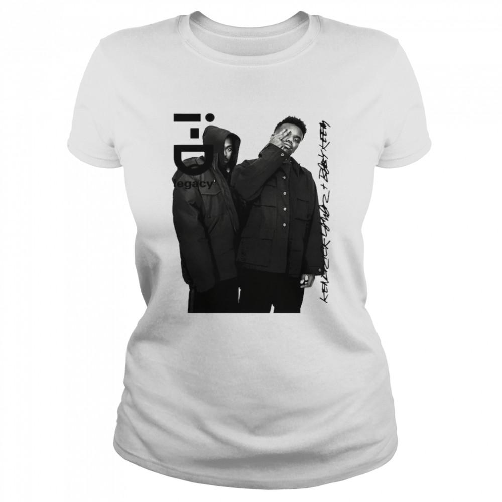 Baby Keem i-D legacy signatures shirt Classic Women's T-shirt