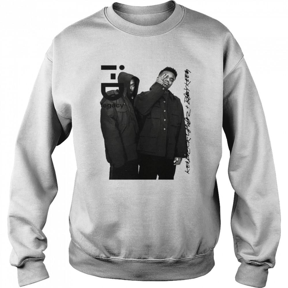 Baby Keem i-D legacy signatures shirt Unisex Sweatshirt