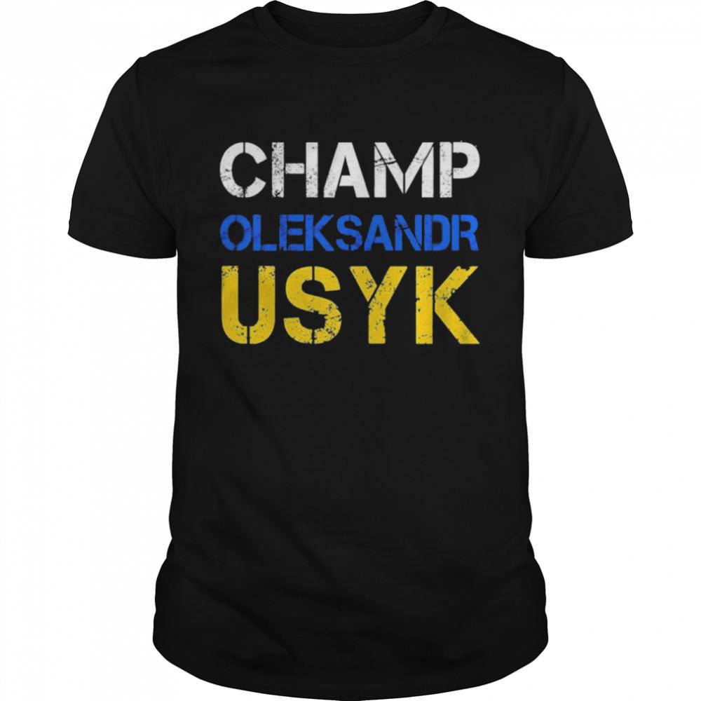Champ Oleksandr Usyk shirt Classic Men's T-shirt