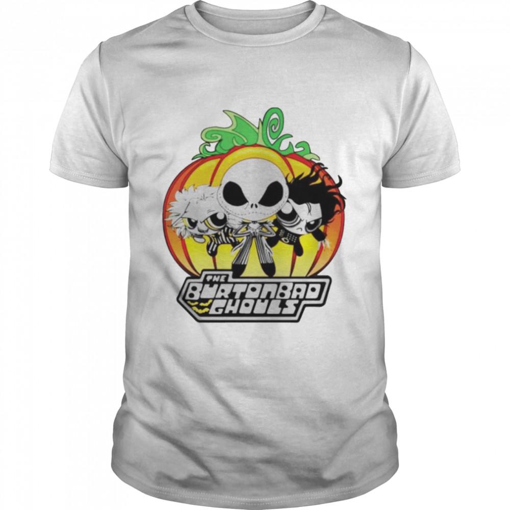 Jack Skellington the burtonbad ghouls shirt Classic Men's T-shirt