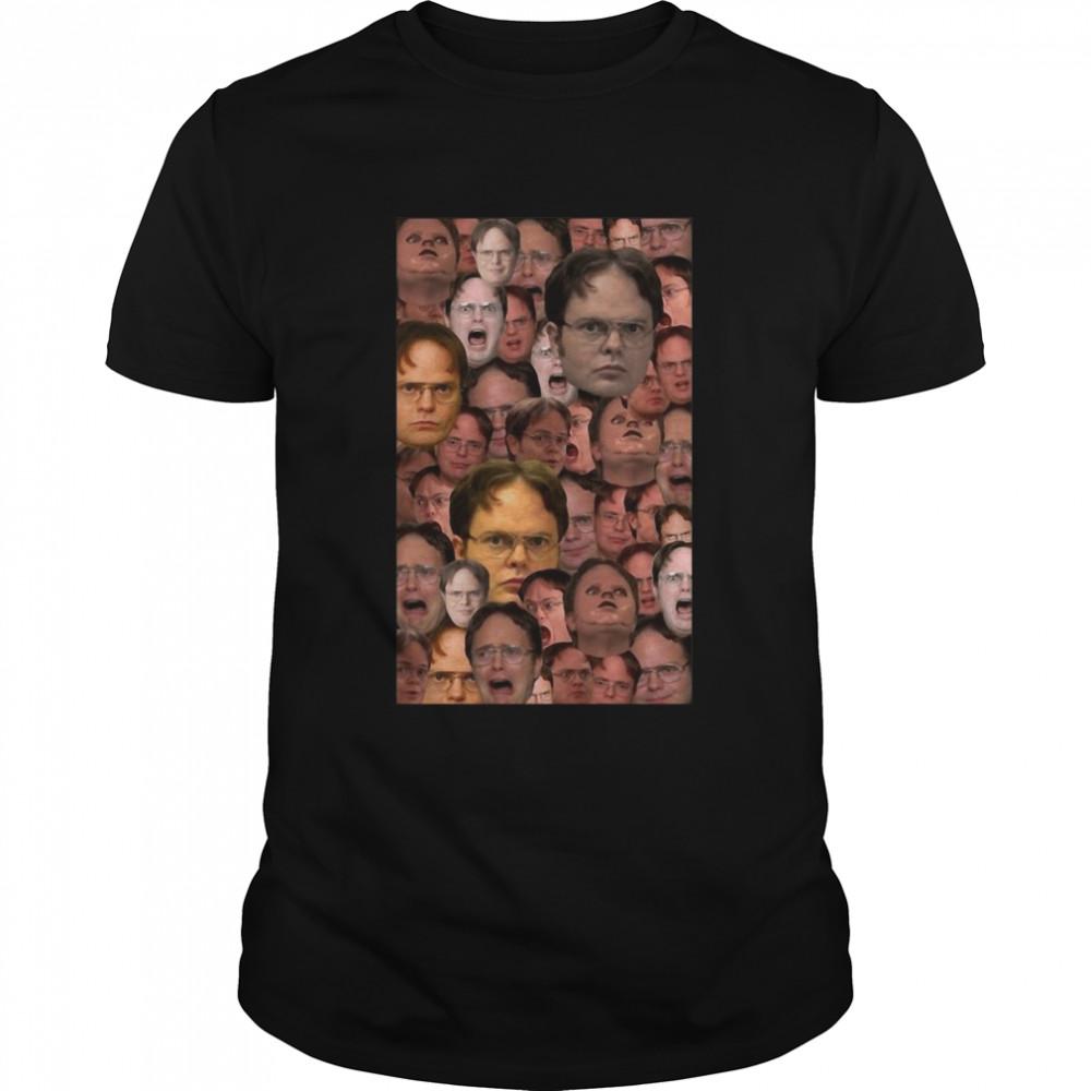 Dwight Schrute Collage T-shirt Classic Men's T-shirt