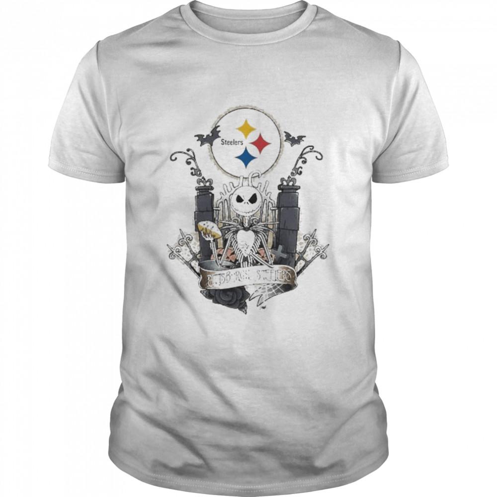 Jack Skellington the nightmare Pittsburgh Steelers shirt Classic Men's T-shirt