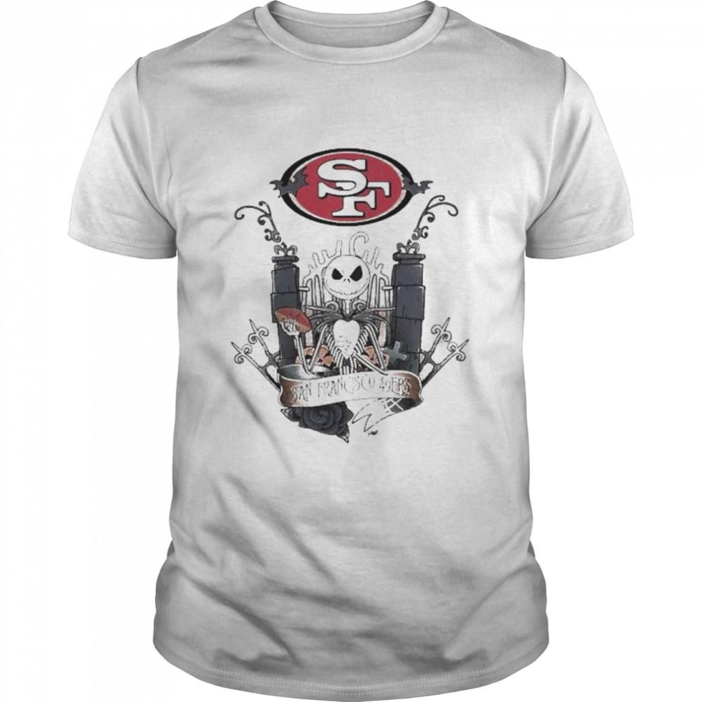 Jack Skellington the nightmare San Francisco 49Ers shirt Classic Men's T-shirt