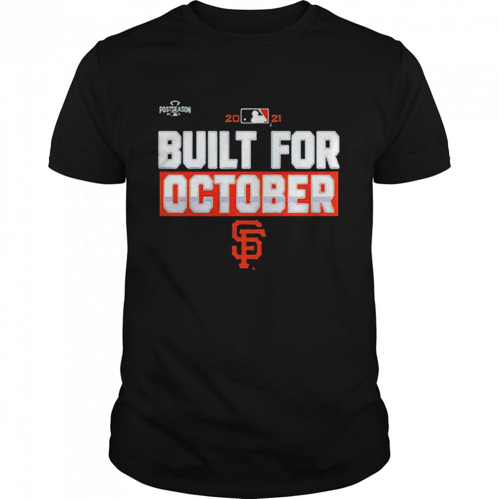 Sf Giants Built For October  Classic Men's T-shirt
