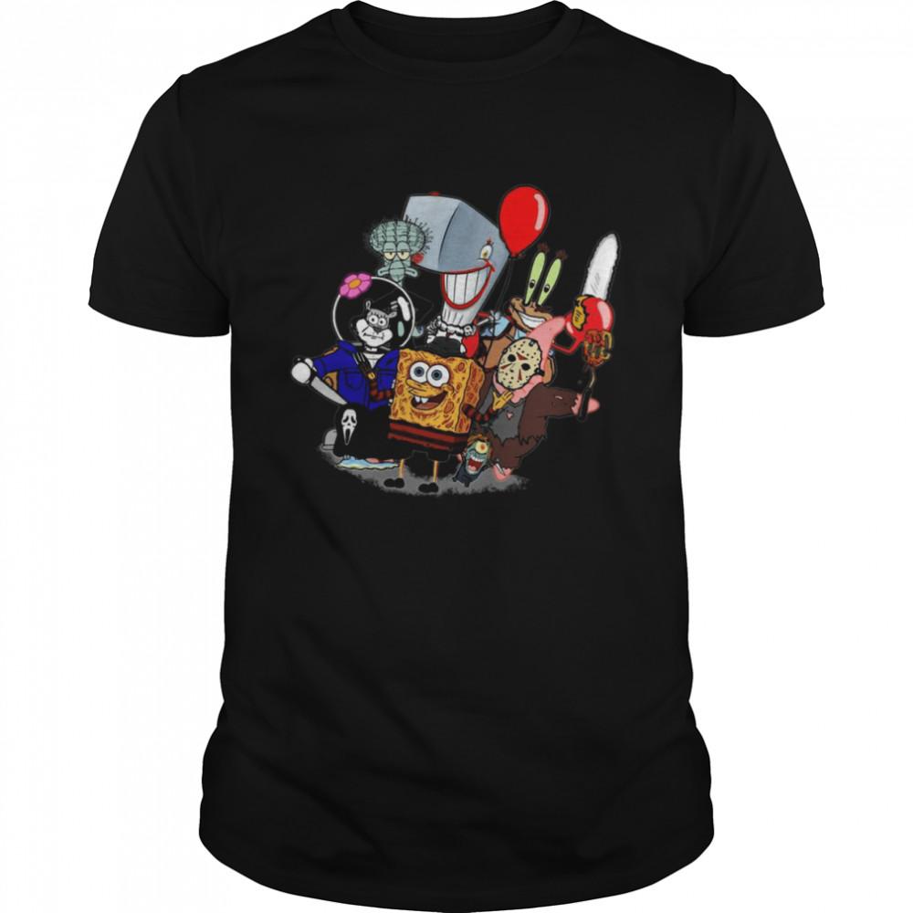 Sponge Bob Horror shirt