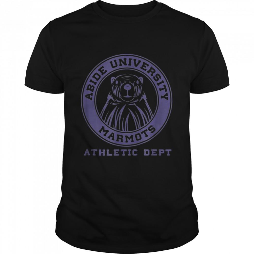 Abide University Marmot  Classic Men's T-shirt