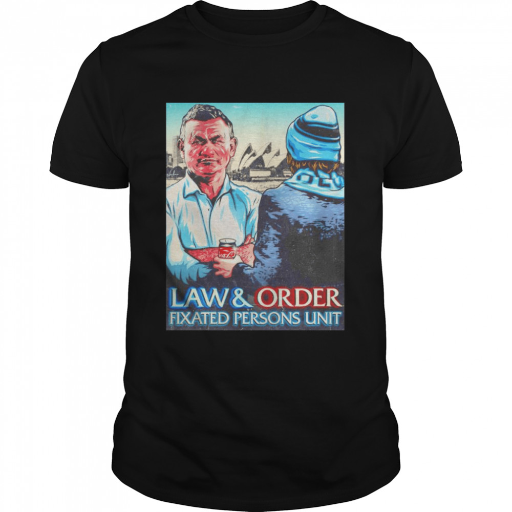 Law and Order Fixated Persons Unit shirt Classic Men's T-shirt