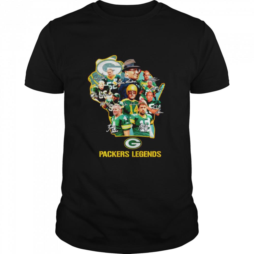 Green Bay Packers Legends Football shirt Classic Men's T-shirt