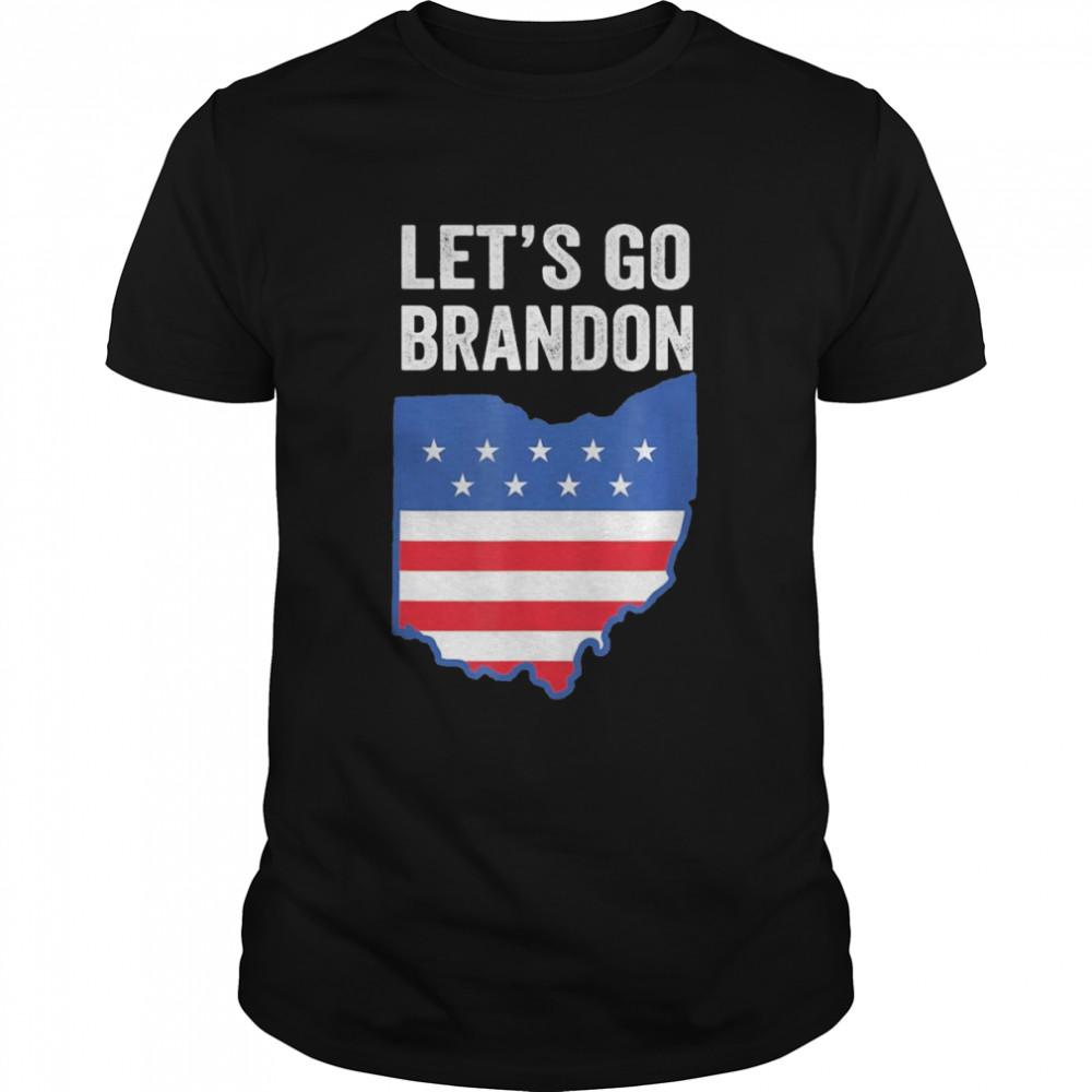 lets Go Brandon Ohio Map shirt Classic Men's T-shirt