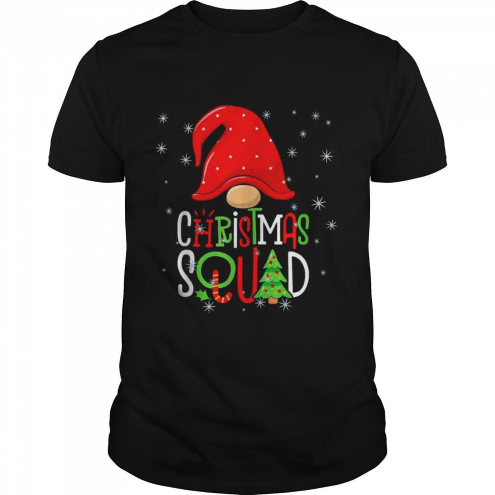 Christmas Squad Xmas Gnome Family Matching Pajamas  Classic Men's T-shirt