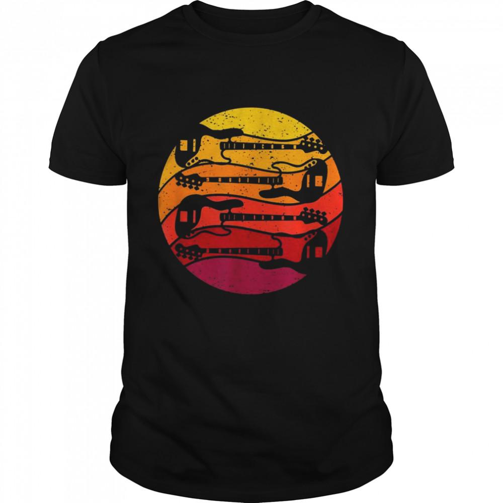 Gitarre Retro Style Vintage  Classic Men's T-shirt