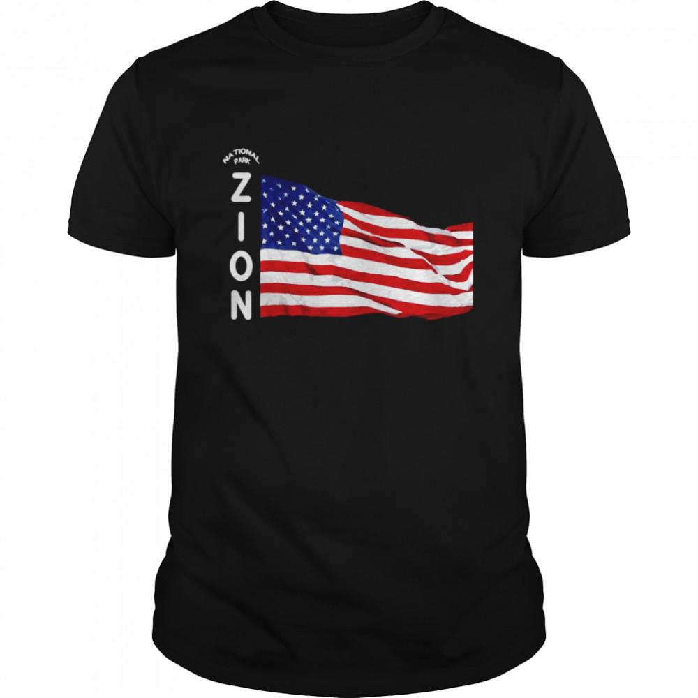Kids ZION National Park Utah Children Boy Girl Family  Classic Men's T-shirt