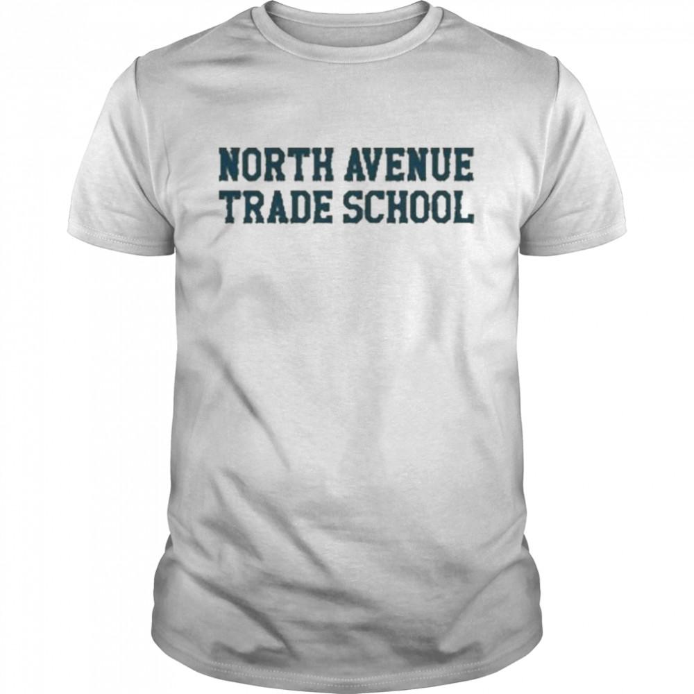 North Avenue Trade School Tee  Classic Men's T-shirt