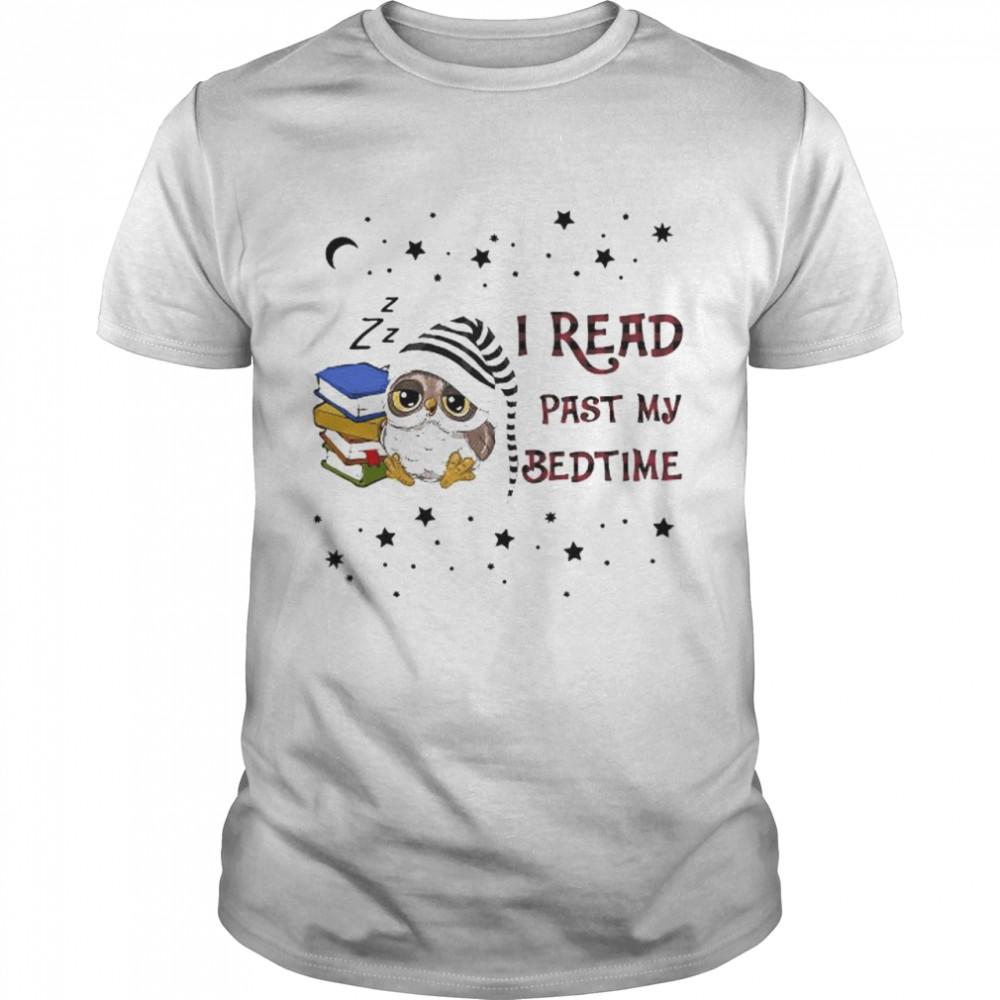 Owl I Read Past My Bedtime caro  Classic Men's T-shirt