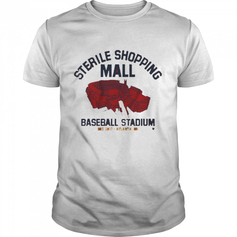 Sterile Shopping Mall Atlanta Stadium  Classic Men's T-shirt