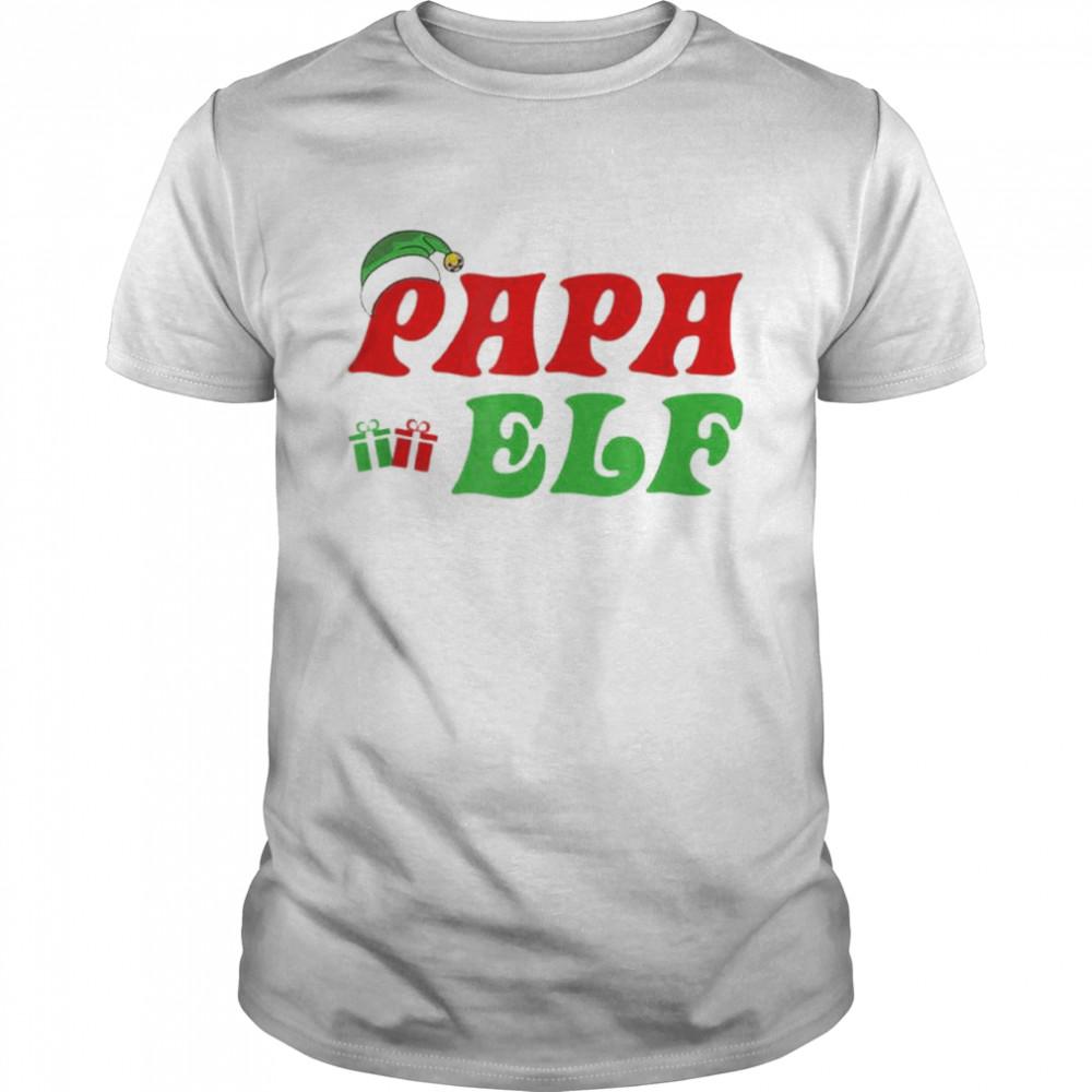 Christmas Santa Papa Elf shirt Classic Men's T-shirt